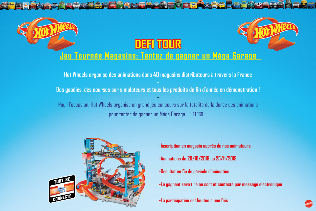REGLEMENT DU JEU Hot Wheels